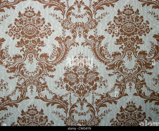 Floral design wallpaper background. - Stock Image