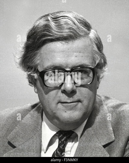FILE PICTURES from 1984. Sir Geoffrey Howe was a former British Conservative politician. Richard Edward Geoffrey - Stock Image