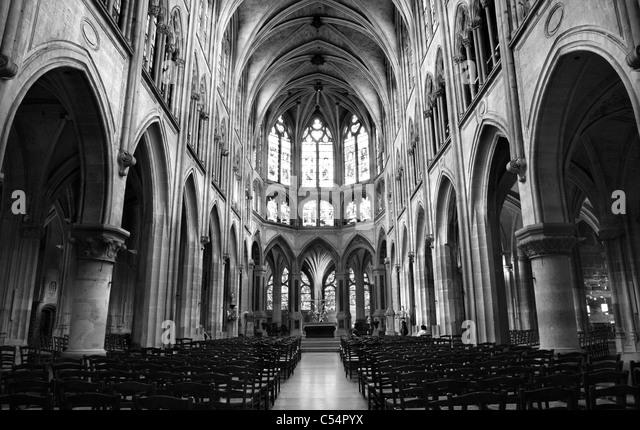 Gothic Church Interior Stock Photos Amp Gothic Church