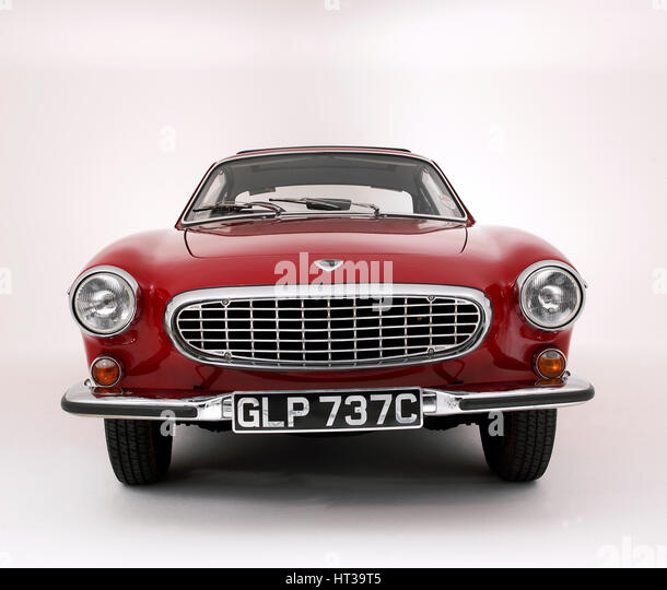 1965 Volvo 1800S. Artist: Unknown. - Stock-Bilder