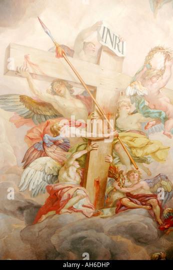 Inri stock photos inri stock images alamy for Acheter crucifix mural