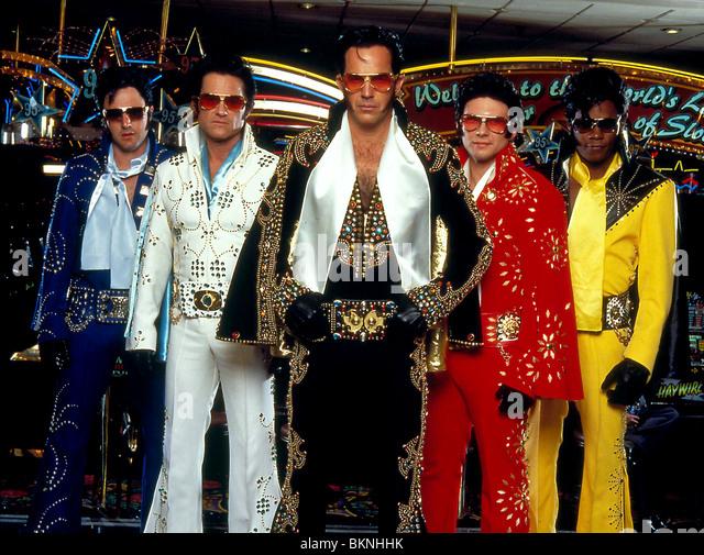 3000 MILES TO GRACELAND (2001) DAVID ARQUETTE, KURT RUSSELL, KEVIN COSTNER, CHRISTIAN SLATER, BOKEEM WOODBINE 3KMG - Stock Image
