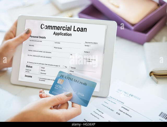 what is a commercial loan application