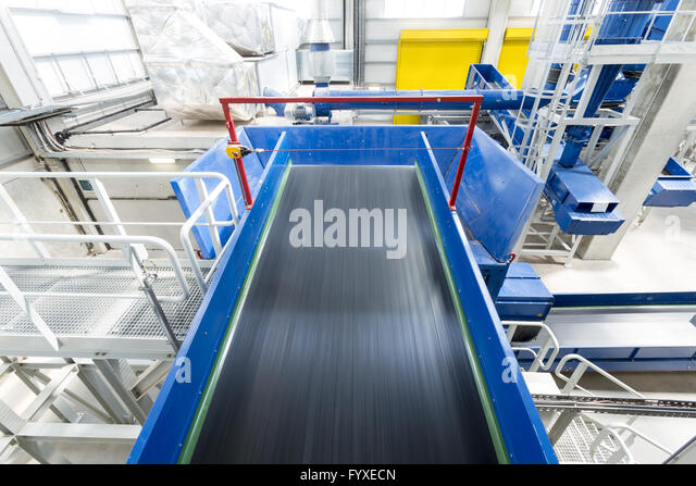 Waste management facility - Stock Image