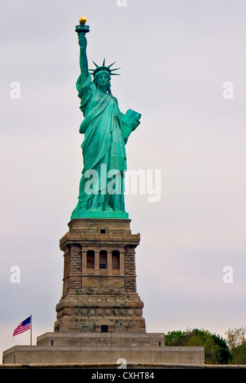 The Statue of Liberty - Stock Image