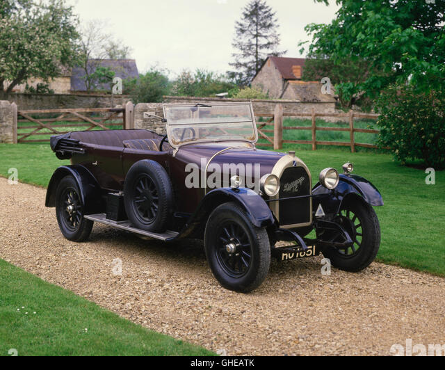 1925 Talbot Darracq 12 HP, 4 door tourer - Stock Image