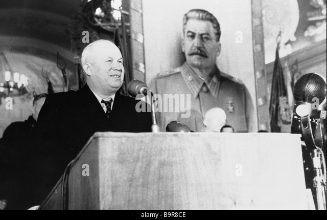 nikita khrushchev and joseph stalin In 1929 khrushchev went to moscow, the soviet capital there he became involved in the government khrushchev strongly supported joseph stalin, who was a harsh ruler of the soviet union.