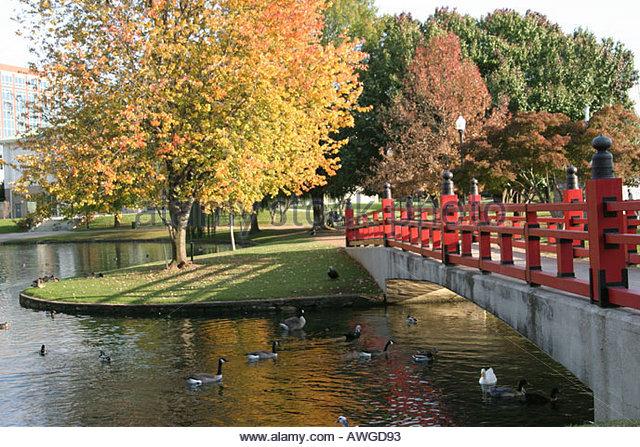 Huntsville Alabama Big Spring Park - Stock Image