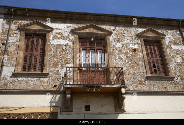 Wooden balcony floor stock photos wooden balcony floor for Balcony nicosia