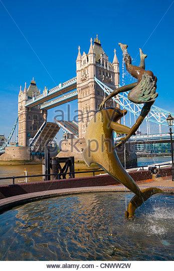 Tower Bridge, London, UK - Stock-Bilder