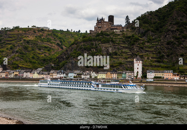 Rhine valley, Germany - Stock Image