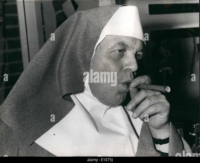 Feb. 02, 1970 - Mother Superior Patrick Wymark: Actor, Patrick Wymark star of the ''Power Came'' - Stock Image