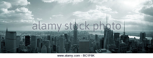 NYC_Panorama - Stock Image