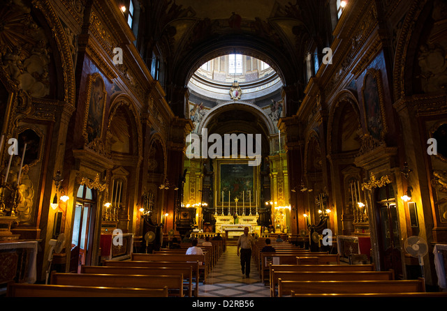 St. Paul church, Rabat, Malta, Europe - Stock Image