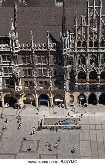 Marienplatz munich - Stock Image