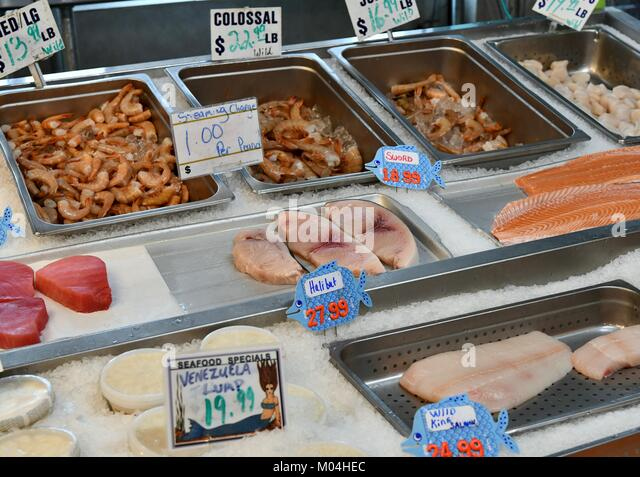 Fresh caught seafood stock photos fresh caught seafood for Fish market maryland