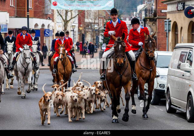 southdown and eridge hunt boxing day meet