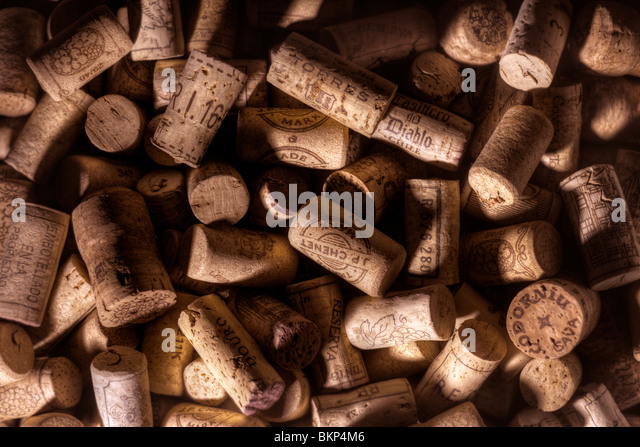 Wine corks - Stock Image