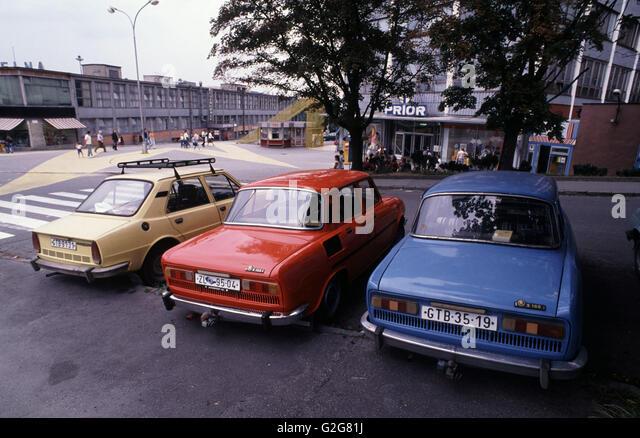 Auto Sale Czech Republic: Skoda Factory Stock Photos & Skoda Factory Stock Images