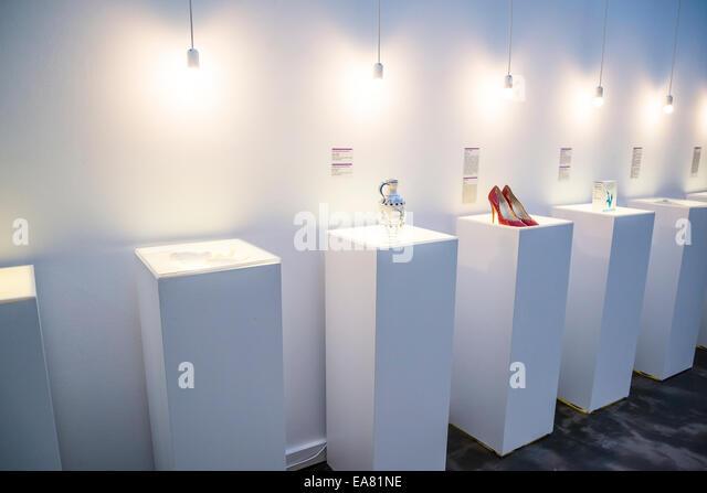 Museum of Broken Relationships, Interior, Upper Town, Zagreb, Croatia - Stock Image