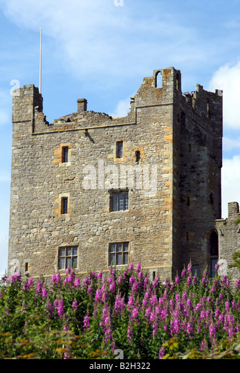 Bolton Castle, Wensleydale, North Yorkshire - Stock Image
