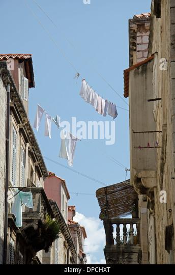 An alley in Croatia 'Dubrovnik' - Stock-Bilder