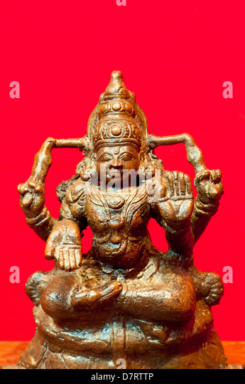 Hindu God Vishnu - Stock Image