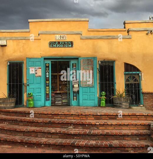 Old town Imporium - Stock Image