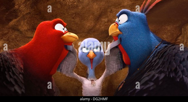 FREE BIRDS  2013 Relativity Media animation - Stock Image