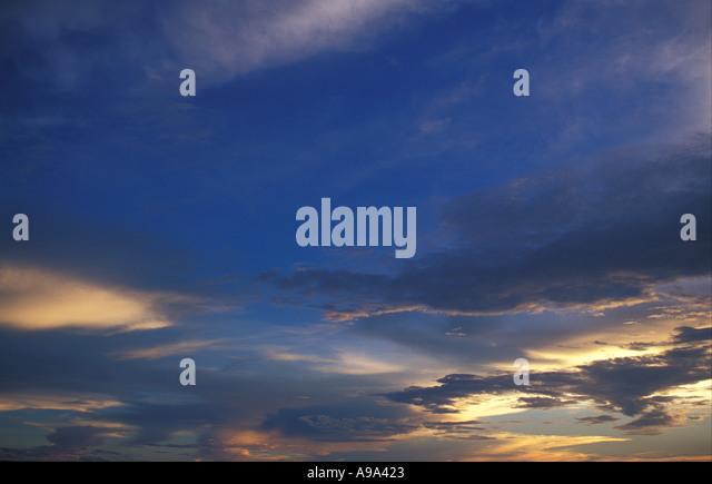 Sky Zimbabwe - Stock Image