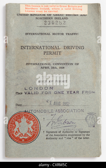 how to get international driving licence uk