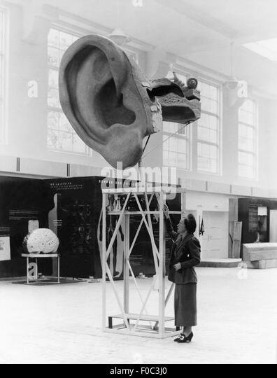 Hygiene Exhibition, 13.5.1937 - Stock Image