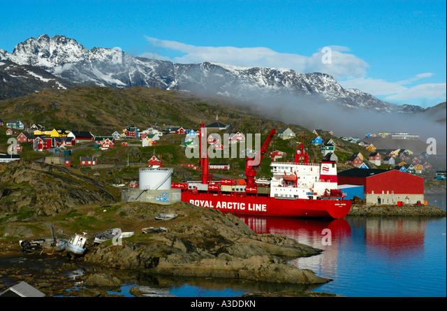 Arctic Line : Royal arctic line stock photos