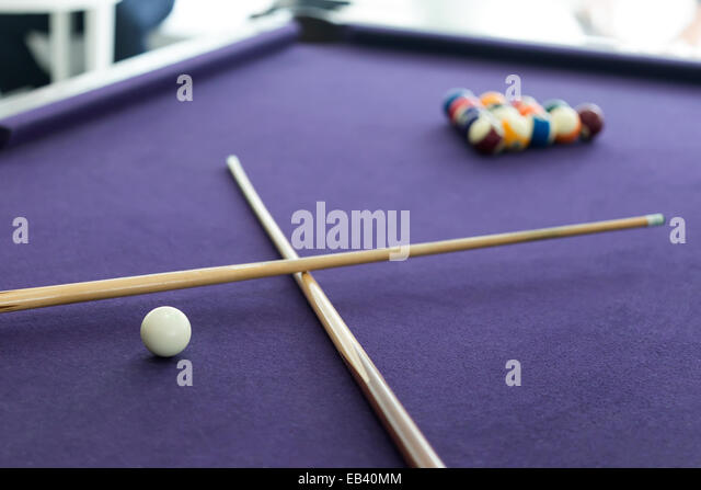 Pool Table Balls Scattered Snooker Triangl...