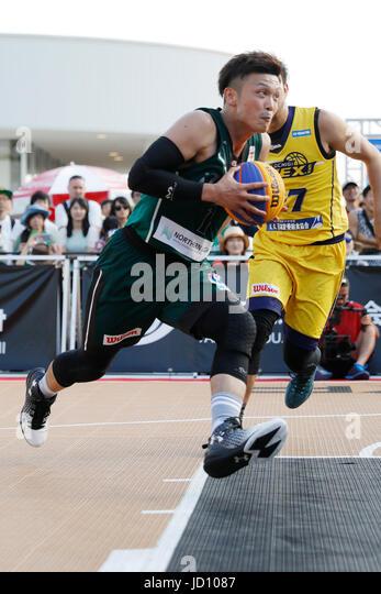 Tokyo, Japan. 17th June, 2017. Tatsuhito Noro (DIME.EXE) Basketball : 33 PREMIER.EXE 2017 Season TACHIKAWA Eastrn - Stock Image