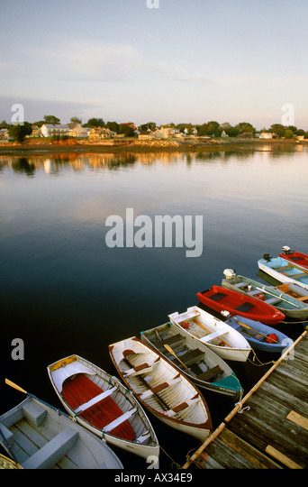 Saint Andrews, NB or St. Andrews By-the-Sea Canada - Stock Image