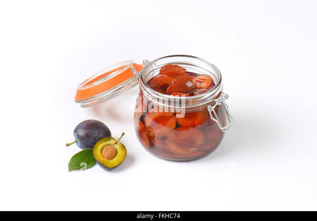 how to eat preserved plums