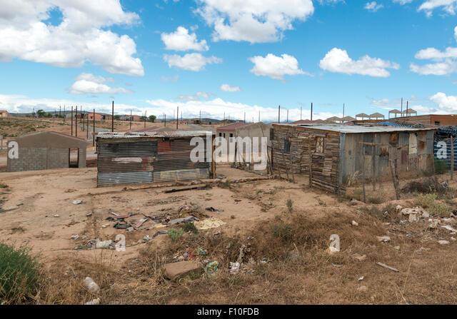 Township, Oudtshorn, Western Cape, South Africa - Stock-Bilder