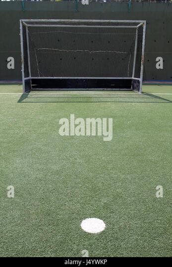 Hockey field, kandivali, mumbai, maharashtra, india, asia - Stock Image