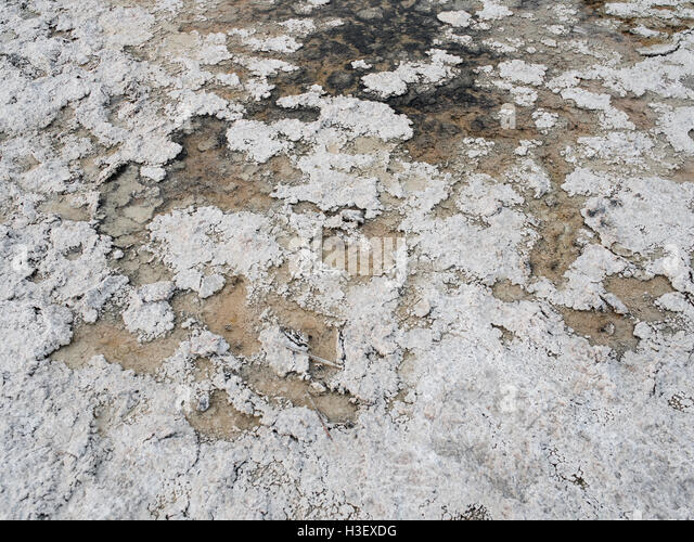 Badwater Basin - Death Valley National Park - Stock Image