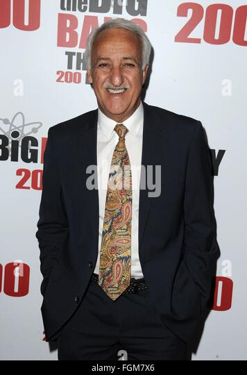Los Angeles, CA, USA. 20th Feb, 2016. Brian George at arrivals for THE BIG BANG THEORY 200th Episode Party, Vibiana, - Stock Image