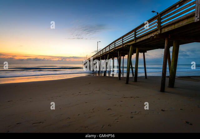 Virginia beach tourism stock photos virginia beach for Va beach fishing pier