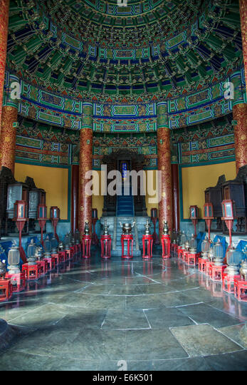 Temple of Heaven, Beijing, China - Stock Image