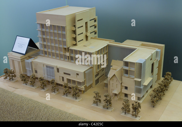 architecture model - Stock Image