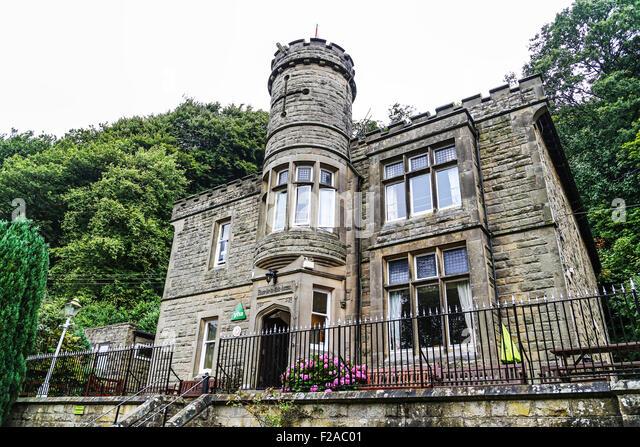The YHA hostel, Eyam, England, UK - Stock Image