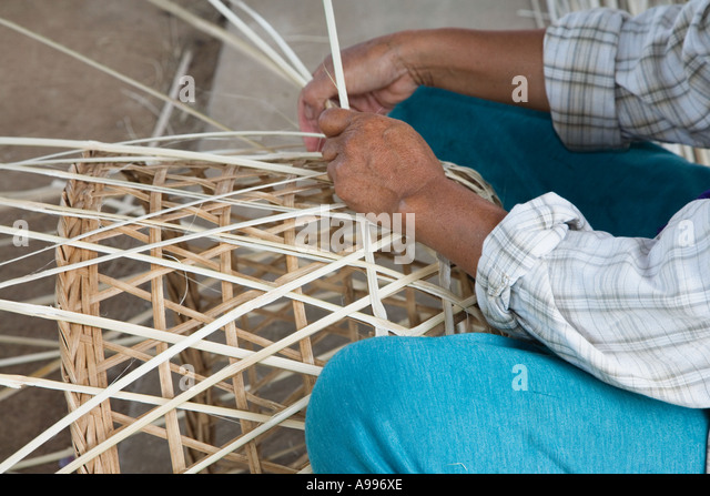 Basket Weaving Origin : Basket weaving stock photos images