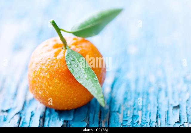 mandarin - Stock Image