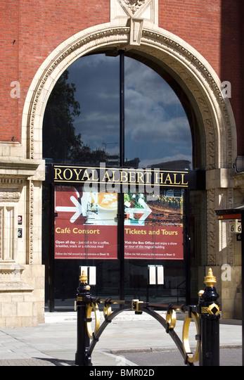 Entrance door royal albert hall stock photos entrance for Door 6 royal albert hall