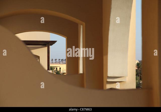 Wüstenarchitektur, Desert architecture,Ägypten,Egypt - Stock-Bilder