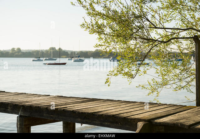 Boats At Landing Stage Stock Photos & Boats At Landing ...